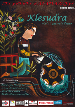 Affiche Klesudra flyers